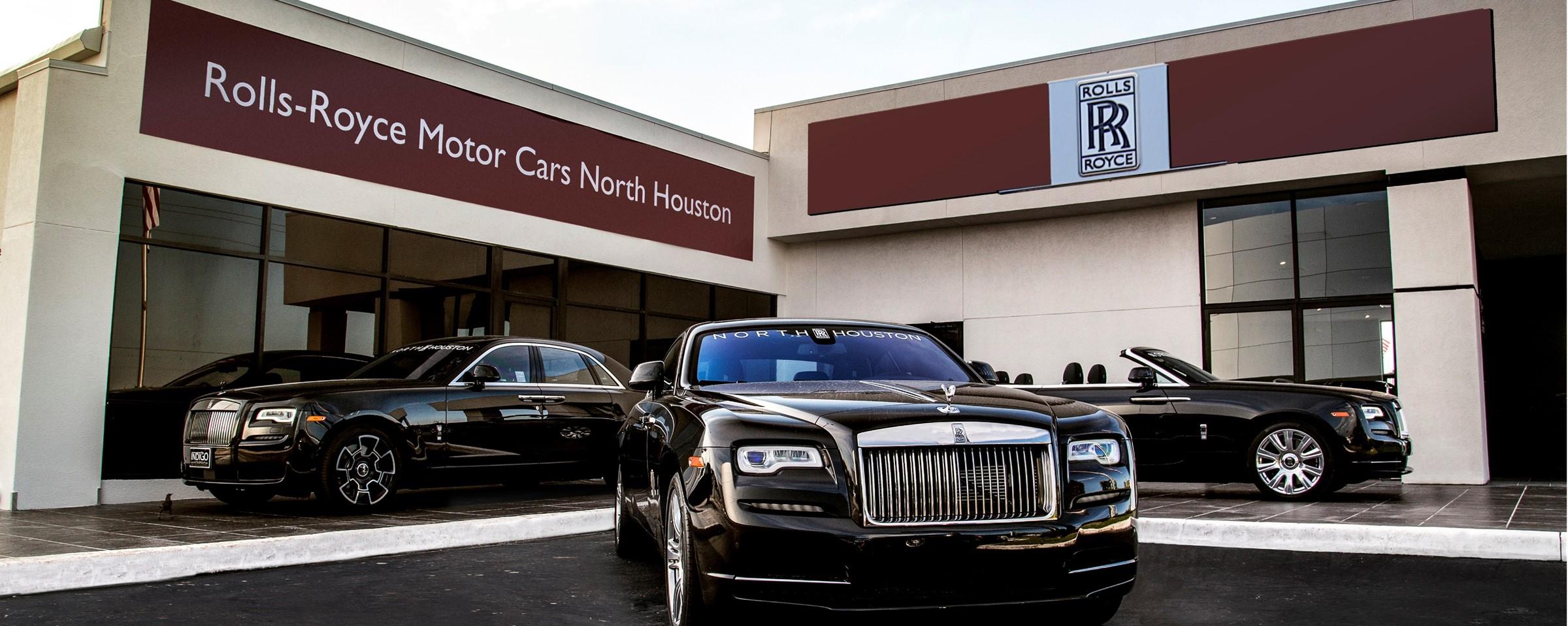 Now Open Rolls Royce Motor Cars North Houston Rolls Royce Rancho