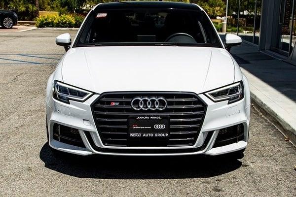 2018 Audi S3 2 0t Premium Plus Quattro Rancho Mirage Ca